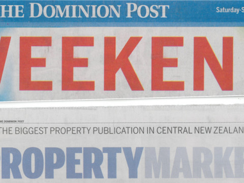Dom Post WEEKEND Banner