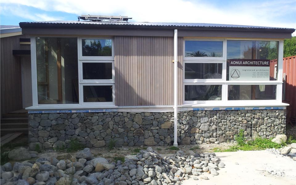 Waikanae active solar house aonui architecture for Active solar house plans