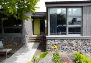 Waikanae active solar home external view 9